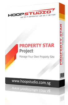 Singapore Property Agent Website Design