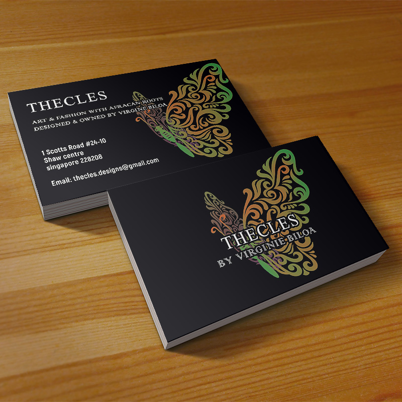 Namecard Design and Print Singapore | HOOPSTUDIO Technologies