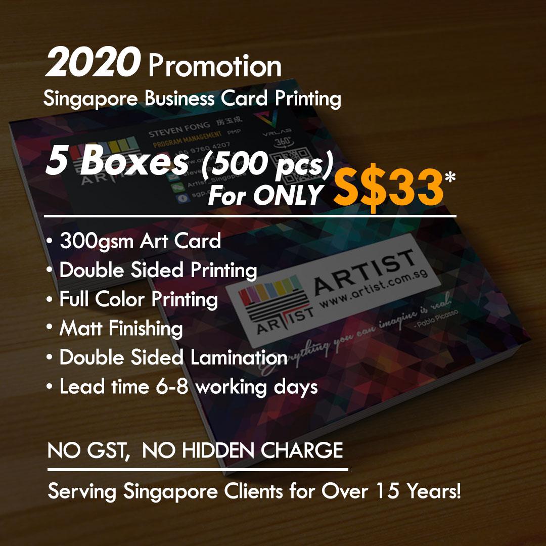 Singapore Business card printing