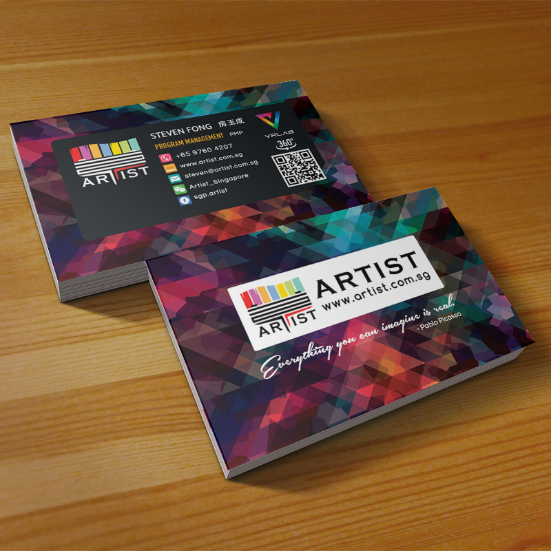 namecard design and print singapore  hoopstudio technologies